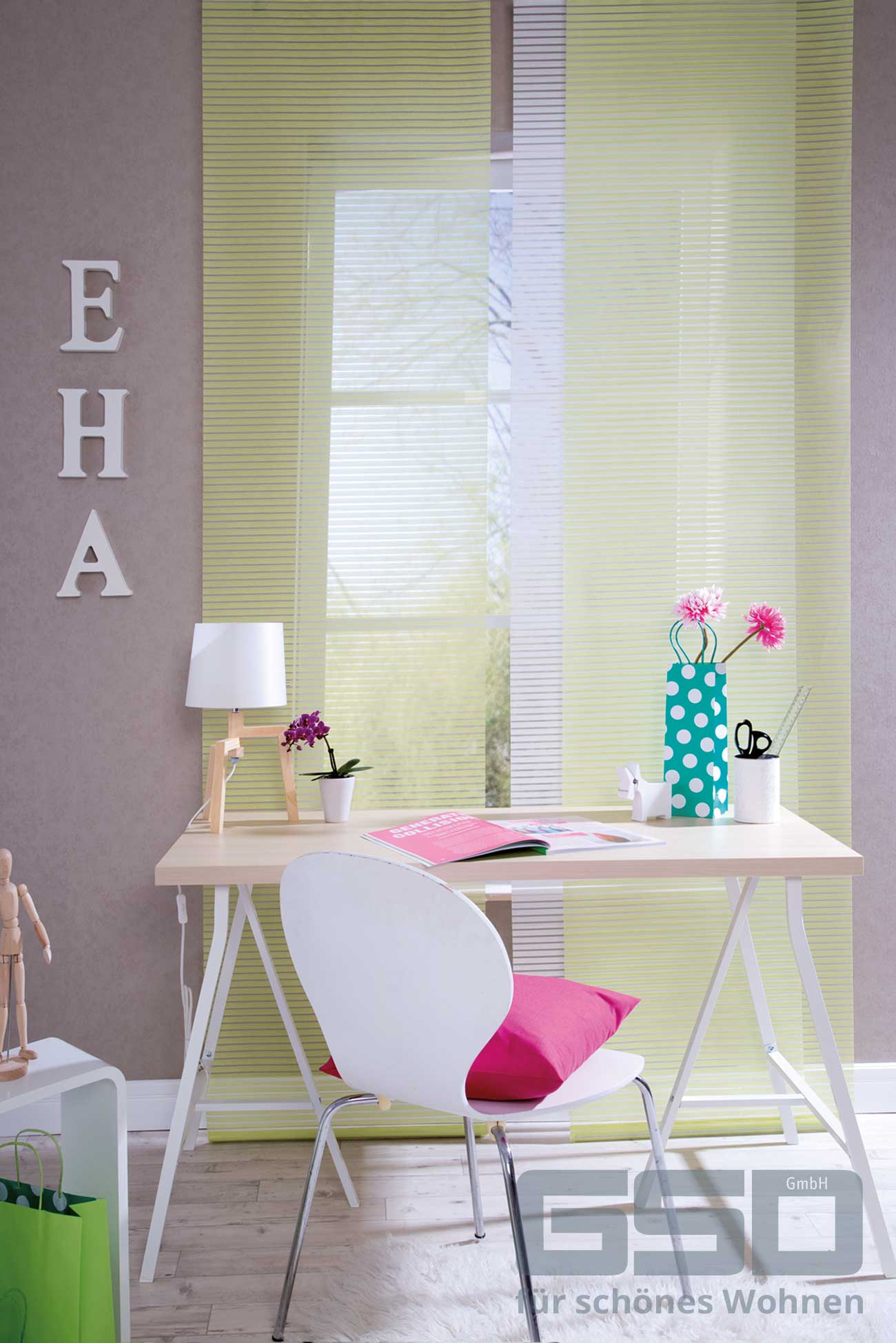 fl chenvorhang nach ma wohnen styling. Black Bedroom Furniture Sets. Home Design Ideas